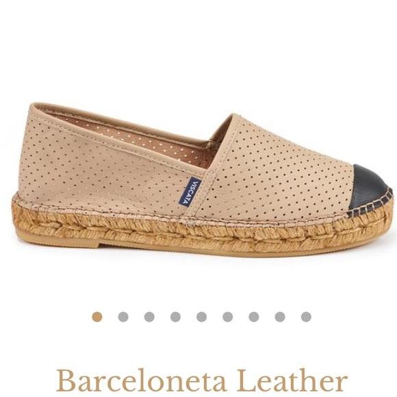 0e8b166248aa0 Viscata Shoes | Leather Cap Toe Espadrilles | Poshmark